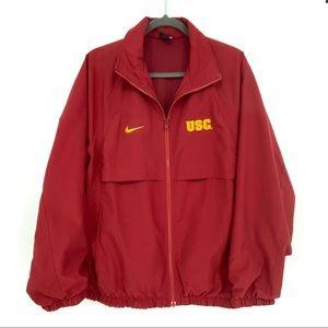 Vintage Nike USC Trojans Full Zipper Sports Jacket